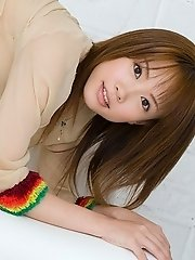 Reika Shiina shy Asian teen has a hot body