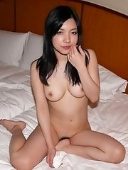 Slutty and cute Japanese av idol Airi Minami gets a full load of cum on her face